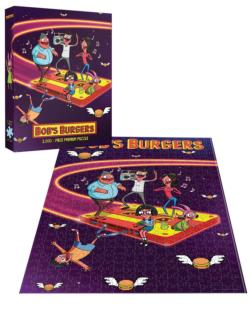 Bob's Burgers Belchers in Space Movies / Books / TV Jigsaw Puzzle