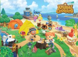 """Animal Crossing """"Welcome To Animal Crossing"""" Video Game Jigsaw Puzzle"""