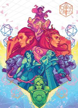 "Critical Role ""Vox Machina"" Fantasy Jigsaw Puzzle"