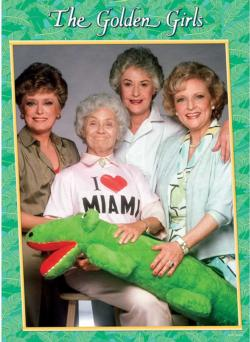 "The Golden Girls ""I Heart Miami"" Movies / Books / TV Jigsaw Puzzle"