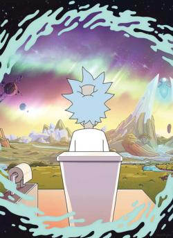 Rick and Morty Toilet Movies / Books / TV Jigsaw Puzzle