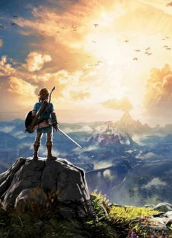 The Legend Of Zelda Breath Of The Wild Video Game Jigsaw Puzzle
