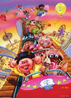 "Garbage Pail Kids ""Thrills and Chills"" Cartoon Jigsaw Puzzle"