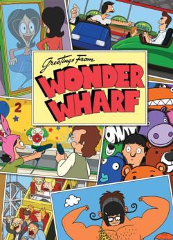 "Bob's Burgers ""Greetings From Wonder Wharf"" Jigsaw Puzzle"