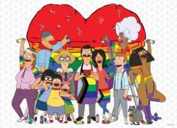 "Bob's Burgers ""Pride"" Movies / Books / TV Jigsaw Puzzle"