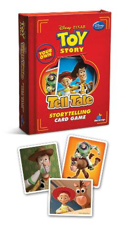 Tell Tale Disney-Pixar Toy Story Movies / Books / TV