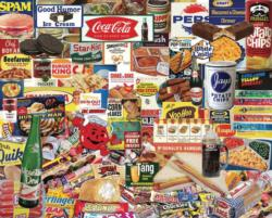 Boomers' Favorite Foods   - Scratch and Dent Collage Jigsaw Puzzle