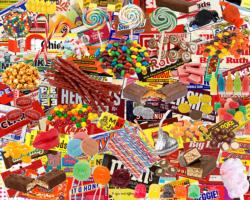 Boomers' Favorite Candy Sweets Jigsaw Puzzle