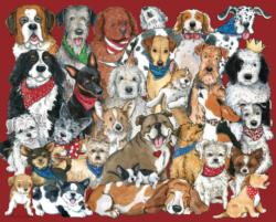 Dogs,Dogs,Dogs Dogs Jigsaw Puzzle