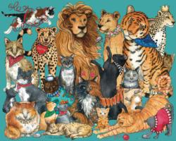 Cats, Cats, Cats Collage Jigsaw Puzzle