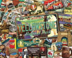 Yellowstone    National Parks Impossible Puzzle