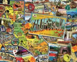 California Dreamin'   California Impossible Puzzle
