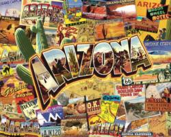 Arizona Collage Jigsaw Puzzle
