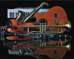 Art of Music Photography Jigsaw Puzzle