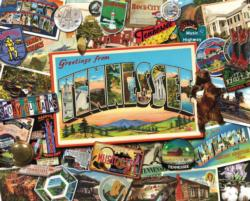 Tennessee   Collage Impossible Puzzle
