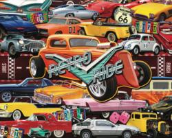 Boomers' Favorite Rides - Scratch and Dent Collage Jigsaw Puzzle