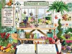 S&F Garden Shed Garden Jigsaw Puzzle