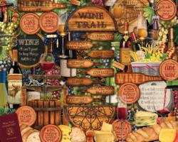 Wine Trail Cocktails / Spirits Jigsaw Puzzle