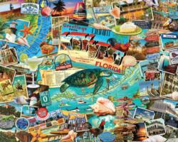 Key West Seascape / Coastal Living Impossible Puzzle