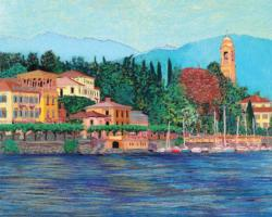 Lake Como Lakes / Rivers / Streams Jigsaw Puzzle
