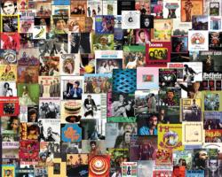 Boomers' Favorite Albums Collage Jigsaw Puzzle