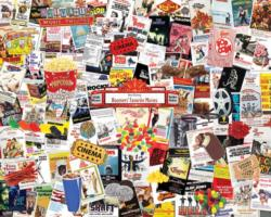 Boomers' Favorite Movies Collage Jigsaw Puzzle