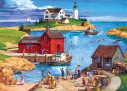 Ladium Bay - Scratch and Dent Seascape / Coastal Living Jigsaw Puzzle