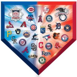MLB Team Logos - Scratch and Dent Baseball Jigsaw Puzzle