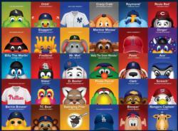 MLB Mascots Baseball Children's Puzzles