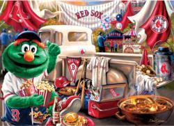 Boston Red Sox Gameday Baseball Jigsaw Puzzle