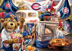 Chicago Cubs Gameday Baseball Jigsaw Puzzle