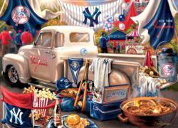 New York Yankees Gameday Baseball Jigsaw Puzzle