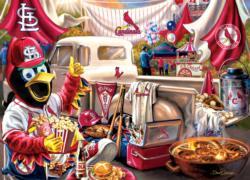 St. Louis Cardinals Gameday Baseball Jigsaw Puzzle