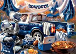 Dallas Cowboys Gameday Football Jigsaw Puzzle