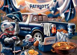 New England Patriots Gameday Football Jigsaw Puzzle