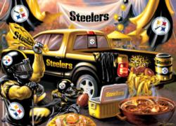 Pittsburgh Steelers Gameday Football Jigsaw Puzzle