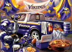 Minnesota Vikings Gameday - Scratch and Dent Football Jigsaw Puzzle
