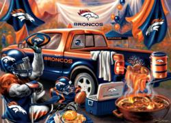 Denver Broncos Gameday Football Jigsaw Puzzle