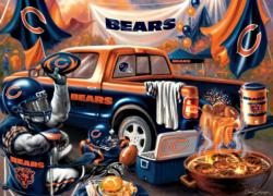 Chicago Bears Gameday Football Jigsaw Puzzle