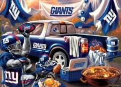New York Giants Gameday Football Jigsaw Puzzle