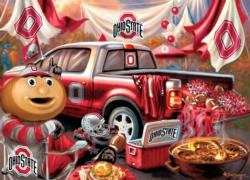 Ohio State Gameday Football Jigsaw Puzzle
