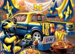 Michigan Gameday Football Jigsaw Puzzle