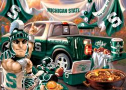 Michigan State Gameday Football Jigsaw Puzzle