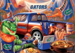 Florida Gameday Football Jigsaw Puzzle