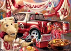 Oklahoma Gameday Football Jigsaw Puzzle