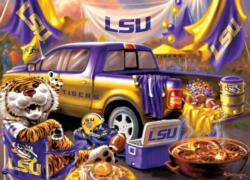 Louisiana State Gameday Football Jigsaw Puzzle