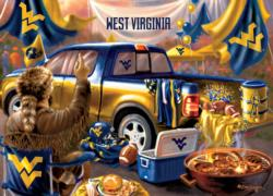 West Virginia Gameday Football Jigsaw Puzzle