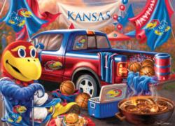 Kansas Gameday Football Jigsaw Puzzle