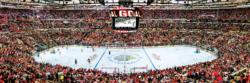 Chicago Blackhawks Sports Panoramic Puzzle