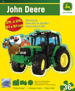 Plowing Through Floor Puzzle John Deere Children's Puzzles